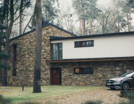 Maison construite par un promoteur
