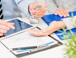 Signature d'un contrat de vente